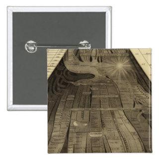 Imagen de naciones pin cuadrada 5 cm