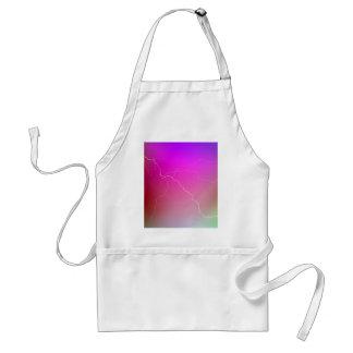 Imagen de neón rosada brillante abstracta del relá delantal