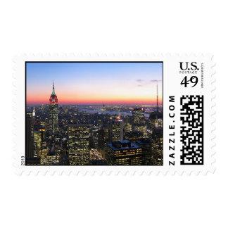 Imagen de NYC en sellos