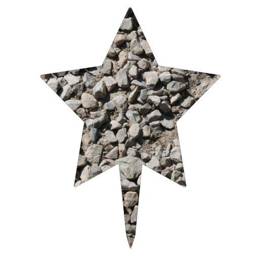 Imagen de pequeñas piedras palillos de tarta