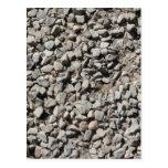 Imagen de pequeñas piedras tarjetas postales