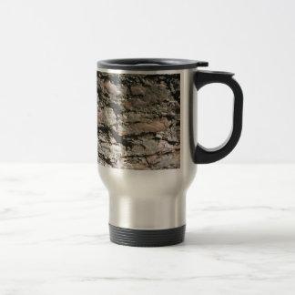 Imagen de piedra de la textura taza de viaje