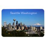 Imagen de Seattle Washington Imán De Vinilo