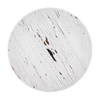 Imagen de tablones de la madera con la pintura tabla para cortar