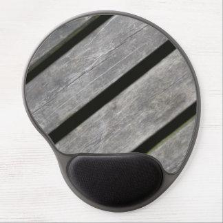 Imagen de tablones resistidos de la madera alfombrillas con gel