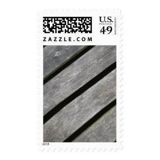 Imagen de tablones resistidos de la madera sello