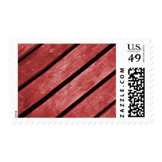 Imagen de tablones rojos de la madera envio