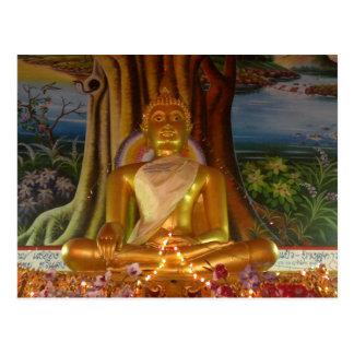 Imagen de Tailandia Buda de la postal muy rara