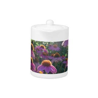 Imagen de un manojo de flores púrpuras