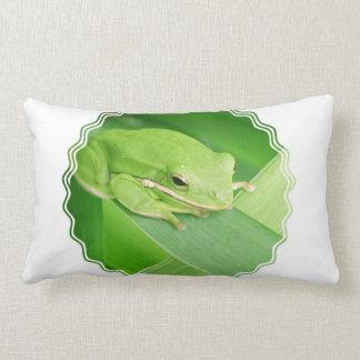 Imagen de una almohada de la rana arbórea