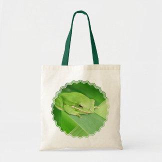 Imagen de una bolsa de asas de Smal de la rana arb