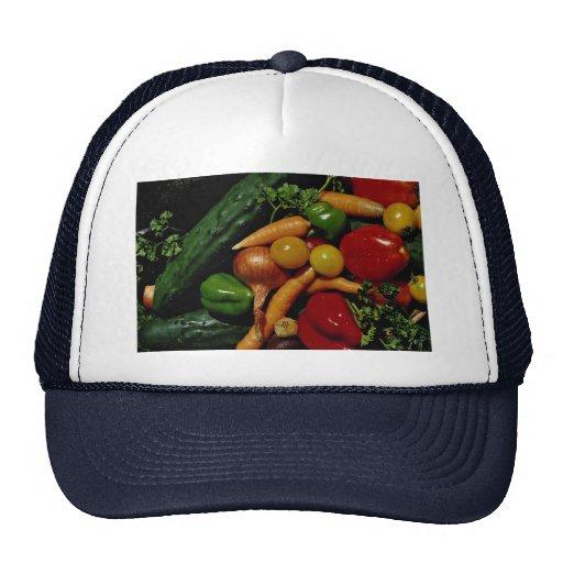 Imagen de verduras frescas gorra