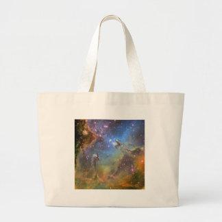 Imagen del Ancho-Campo de la nebulosa de Eagle Bolsa Tela Grande