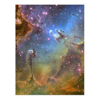 Imagen del Ancho-Campo de la nebulosa de Eagle Postales