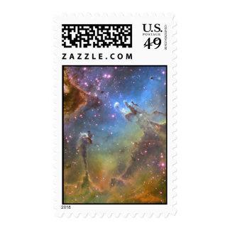 Imagen del Ancho-Campo de la nebulosa de Eagle Sellos Postales