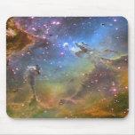 Imagen del Ancho-Campo de la nebulosa de Eagle Tapete De Raton