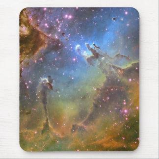 Imagen del Ancho-Campo de la nebulosa de Eagle Alfombrilla De Ratón
