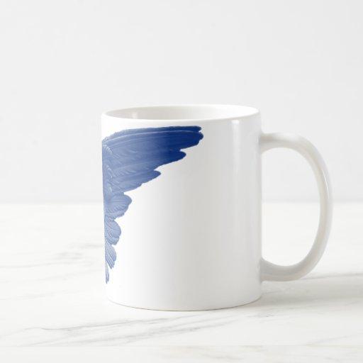 ¡Imagen del ángel azul! Tazas