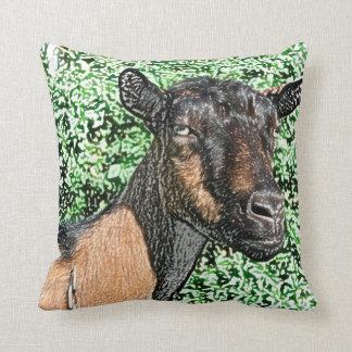 imagen del animal de la cabra de la gama del cojín decorativo