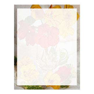 Imagen del arreglo floral membrete personalizado