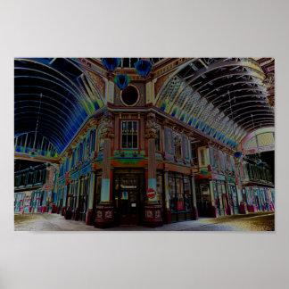 Imagen del arte de Digitaces del mercado Londres d Impresiones
