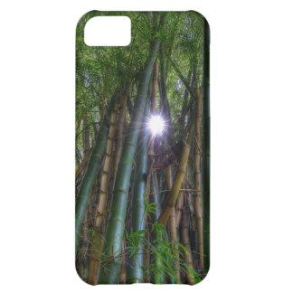 Imagen del bambú de Dave Lee del caso de Iphone 5 Funda Para iPhone 5C