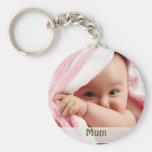 Imagen del bebé para la momia, regalo del llavero