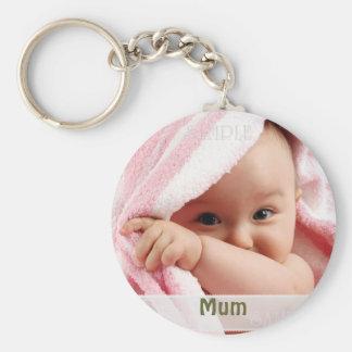 Imagen del bebé para la momia regalo del llavero