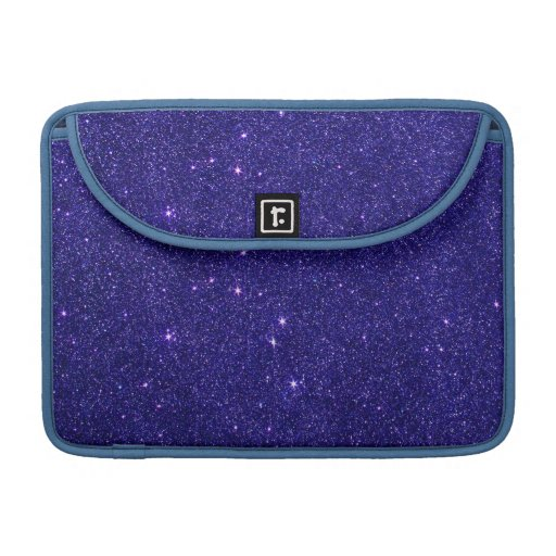 Imagen del brillo azul de moda funda para macbooks