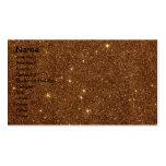 Imagen del brillo de cobre de moda tarjetas de visita