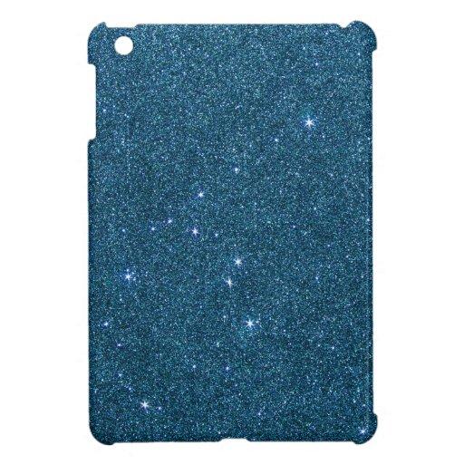 Imagen del brillo de moda azul iPad mini cárcasa