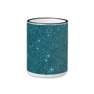 Imagen del brillo de moda del trullo taza de dos colores