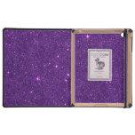 Imagen del brillo púrpura brillante iPad fundas