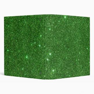 "Imagen del brillo verde claro carpeta 1"""