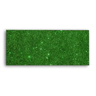 Imagen del brillo verde claro sobre