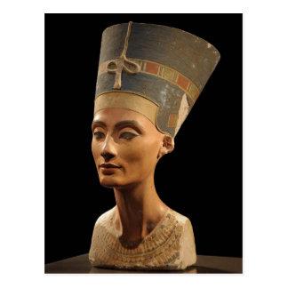 Imagen del busto de Nefertiti en el museo de Neues Postal