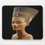 Imagen del busto de Nefertiti en el museo de Neues Tapetes De Ratón