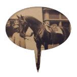 Imagen del caballo del vintage palillos de tarta