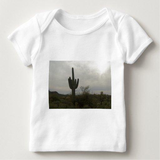 Imagen del cactus playera de bebé
