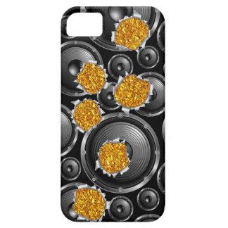 imagen del cambio de los altavoces del caso del iPhone 5 funda