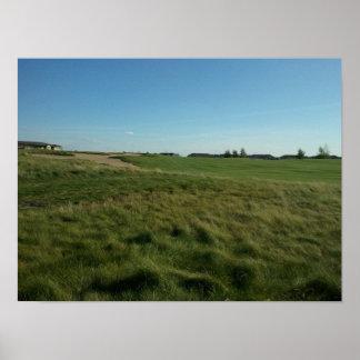 Imagen del campo de golf de Walk de rey Impresiones