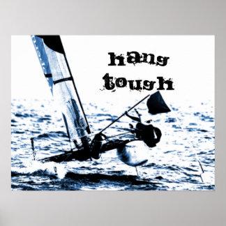 Imagen del catamarán de la navegación de la compet póster