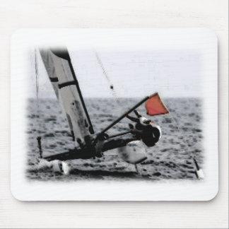 Imagen del catamarán de la navegación de la compet tapetes de raton