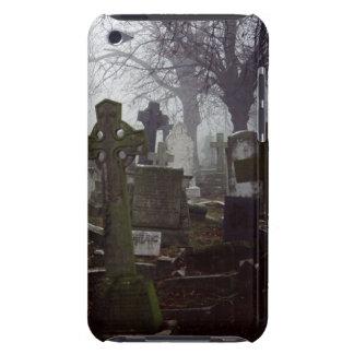 Imagen del cementerio del tacto de IPod en el caso iPod Case-Mate Coberturas