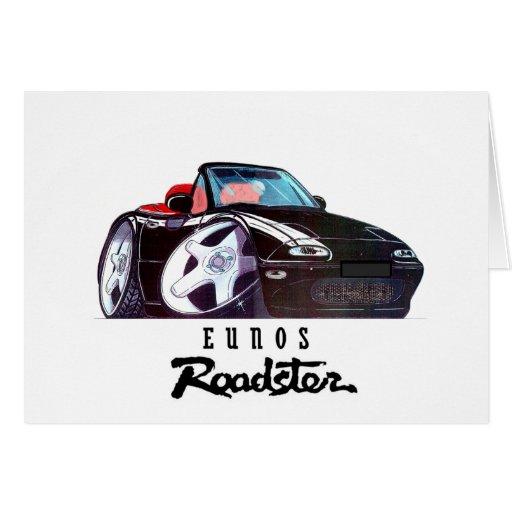 imagen del coche del logotipo tarjeta de felicitación