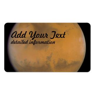 Imagen del color de Marte