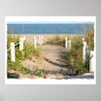 Imagen del color del paseo pie Pierce FL de la du Impresiones