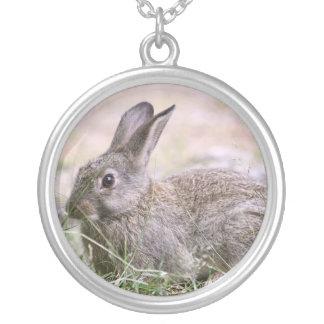 Imagen del conejo colgantes personalizados