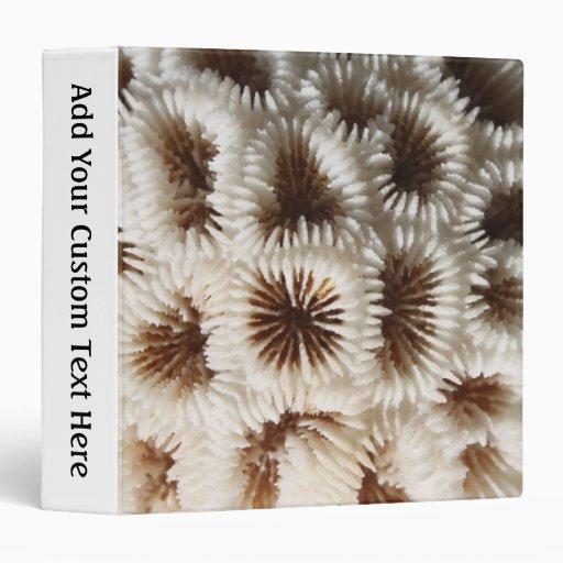 "Imagen del coral carpeta 1 1/2"""