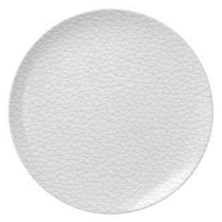 Imagen del cuero blanco platos de comidas